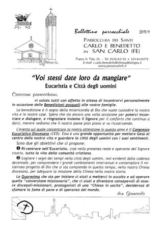 Bollettino Parrocchiale 2017/1